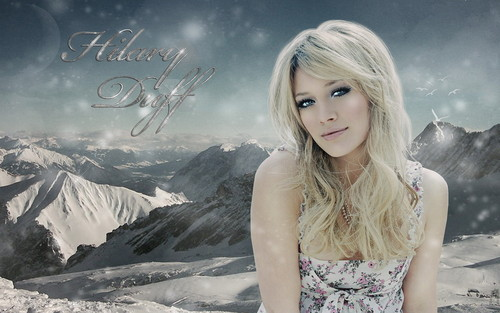 hiLL - hilary-duff Wallpaper
