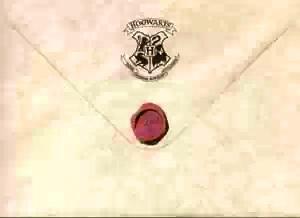 hogwarts envelope