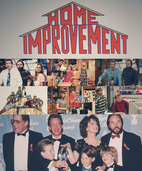 Home Improvement Home Improvement Tv Show Fan Art