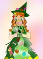 izzy sweet witch - total-drama-island fan art