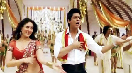 kareena n srk in no.1 dance number 6ammak 6allo