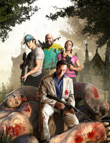 left 4 dead 2 wallpaper probably containing an abattoir, a by catch, and a tuna called l4d2