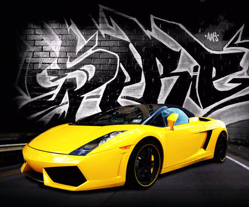 Lamborghini wallpaper probably containing a sports car and a roadster called lamboattack