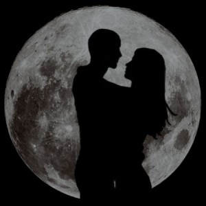 love moon - moon Photo