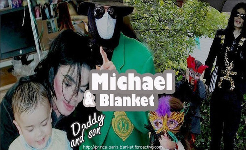 michael and blanket