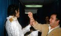 michael and frank ( Uncle Tookie) - michael-jackson photo