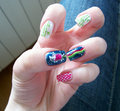 nyan cat nails - nyan-cat photo