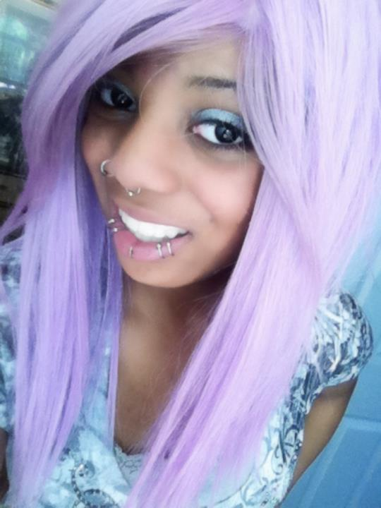 purple hair - Emo & Scene Hairstyles Photo (30663039) - Fanpop
