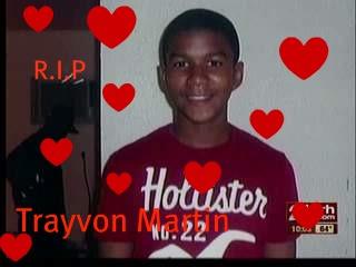 r.i.p trayvon