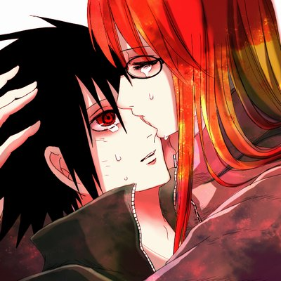 Anime couples images sasuke and karin  wallpaper and background photos
