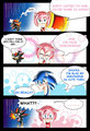 sonamy comic_sonic and amy