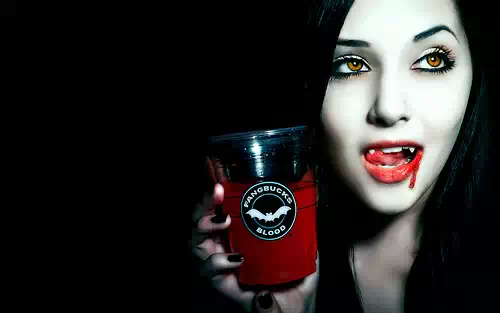 Starbucks vamp