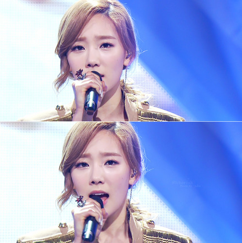 taeyeon Missing anda Like Crazy@ MBC Muzik Core