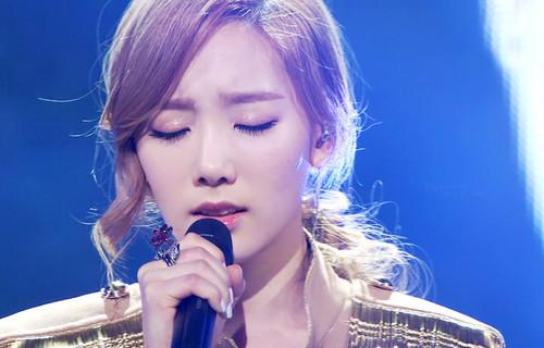 taeyeon Missing wewe Like Crazy@ MBC muziki Core