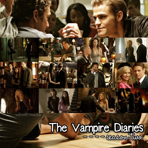 the vampire diaries - season two