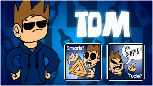 Tom (eddsworld) wallpaper with anime entitled tom