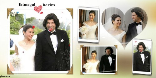 wedding of fatma gul and karim