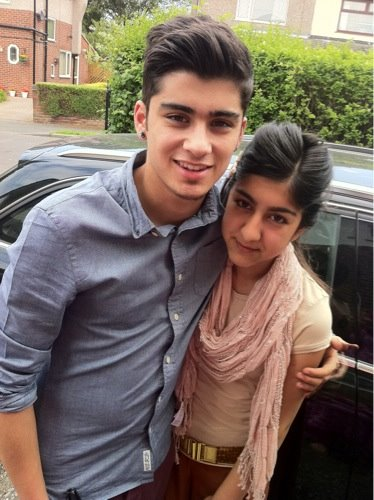 with his sis - zayn-malik Photo