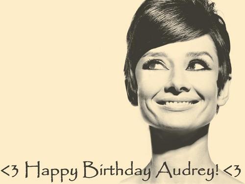 <3 Happy Birthday Audrey! <3