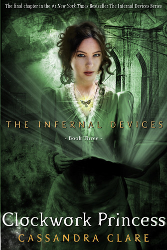 'Clockwork Princess' fanmade book cover