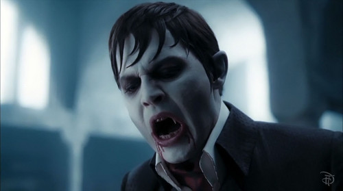 "Tim Burton's Dark Shadows wallpaper with a business suit called  Dark Shadows - ""Barnabas Unleashed"""