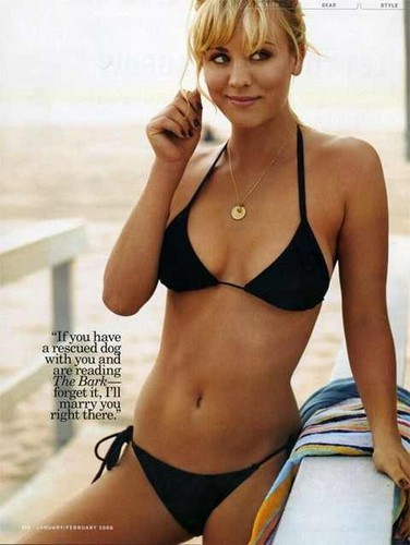 Kaley Cuoco wallpaper containing a bikini called ★Kaley★