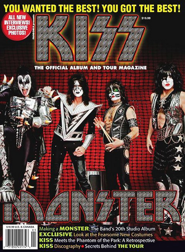 ☆ Kiss Official Album & Tour Magazine