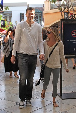 Leaving the Pacific Theatres at The Grove in LA with Scott - ashley-tisdale Photo