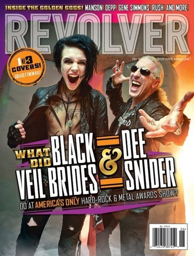 Black Veil Brides wallpaper with Anime called ☆ Revolver Magazine ☆