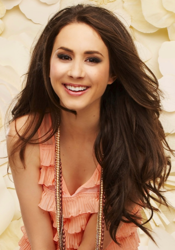 Pretty Little Liars TV Show wallpaper containing a portrait entitled [Spencer] <3