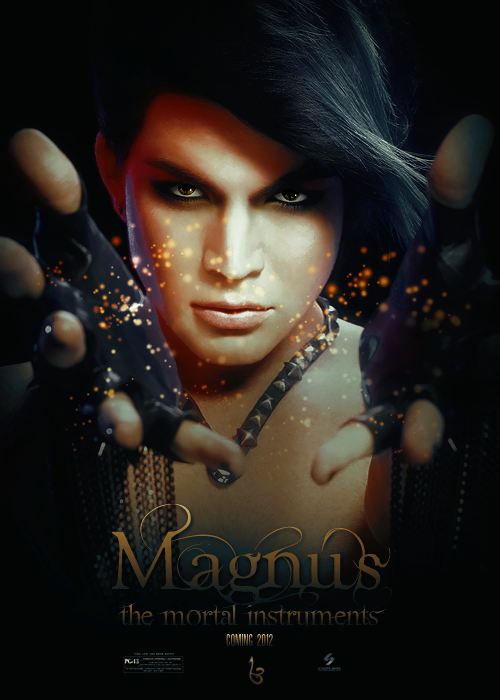 'The Mortal Instruments: City of Bones' fanmade character poster