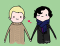 ♥ - johnlock fan art