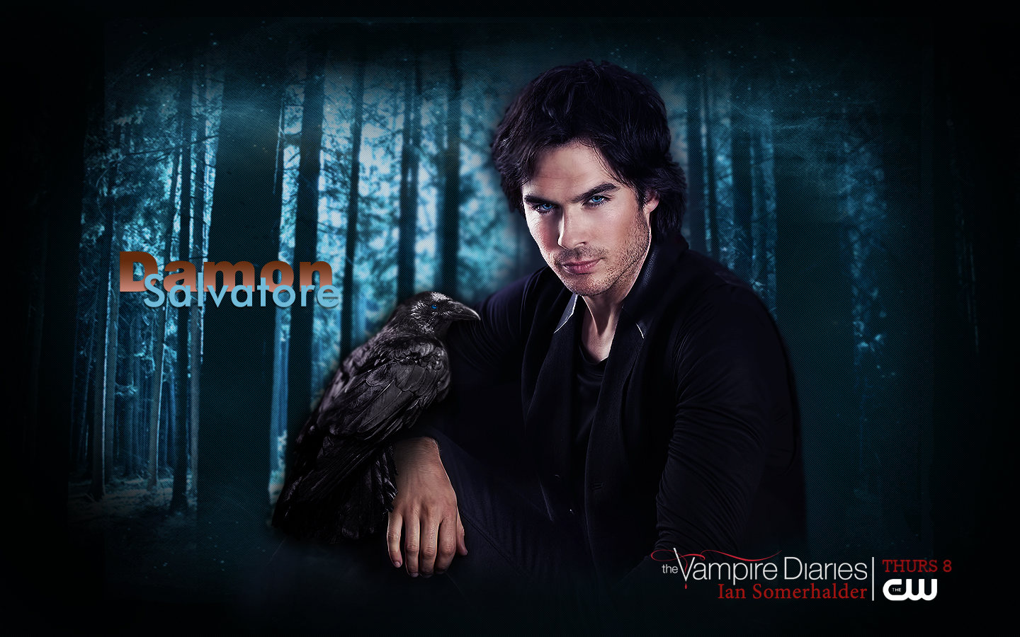 Damon & Elena images Аlternative promo TVD HD wallpaper and