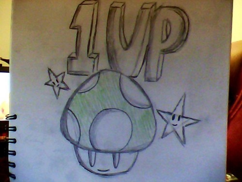 1 up cogumelo