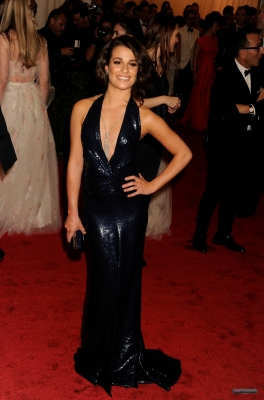 2012 MET Gala - lea-michele Photo