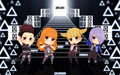 2NE1 chibi I AM THE BEST - 2ne1 wallpaper