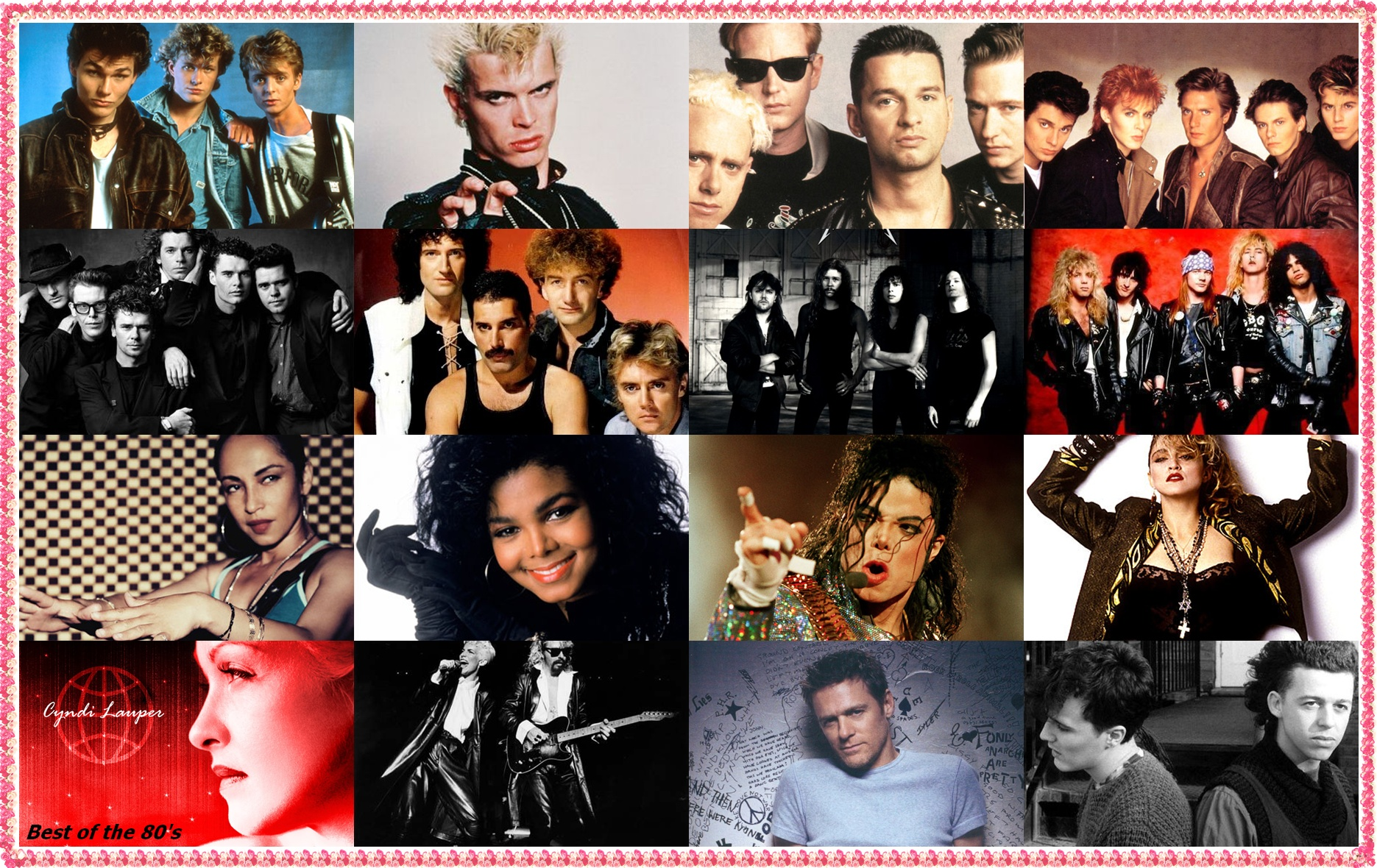 80s music An 80s music trivia quiz add this 80s music trivia quiz to your party - and you'll be playing a fun game for many, the 1980s were a decade to remember, in terms of music.