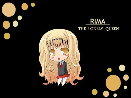 Shugo Chara wallpaper called A Lonely Queen