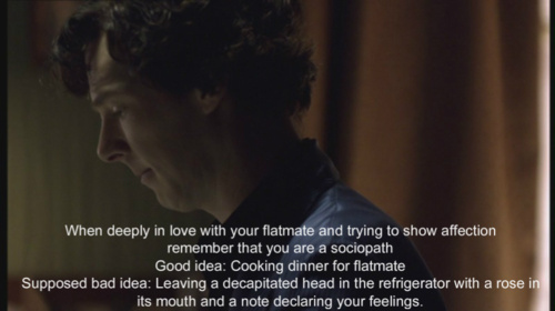 A good advice - johnlock Photo