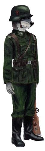 Wehrmacht Soldier Henrey von lobo