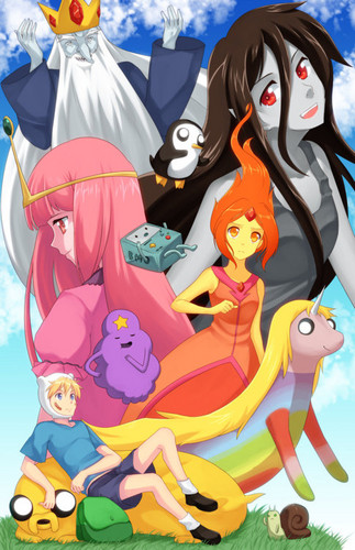 Adventure Time in animé