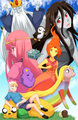 Adventure Time in Anime