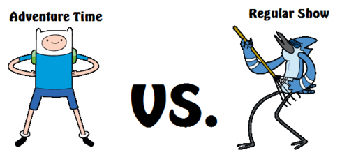 Adventure Time vs. Regular Show - regular-show Photo