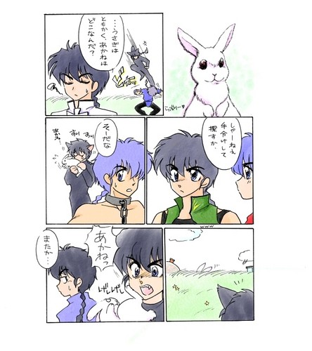 Akanekobin- All the Artist's parallel Ranma and Akane's meet each other 乱あ