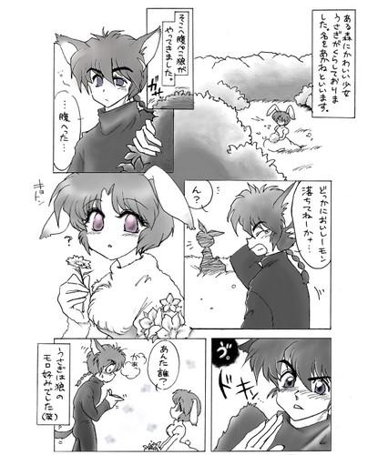 Akanekobin (Parallel Universe) - Rabbit and the भेड़िया 乱あ [Ranma & Akane]
