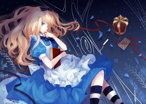Alice in Wonderland. (anime versions)