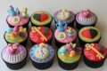 Alice in Wonderland themed Cupcakes
