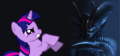Alien Vs. Twilight - my-little-pony-friendship-is-magic-twilight-sparke photo