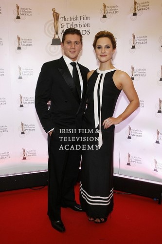 Allen Leech and Ruth Bradley <333