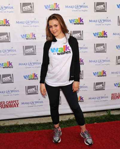 Alyssa - 5th Annual Walk for Wishes Fundraiser, April 28, 2012
